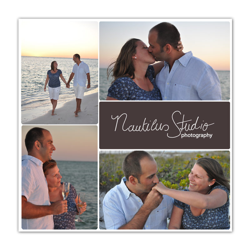 Michael's Proposal in Anna Maria Island
