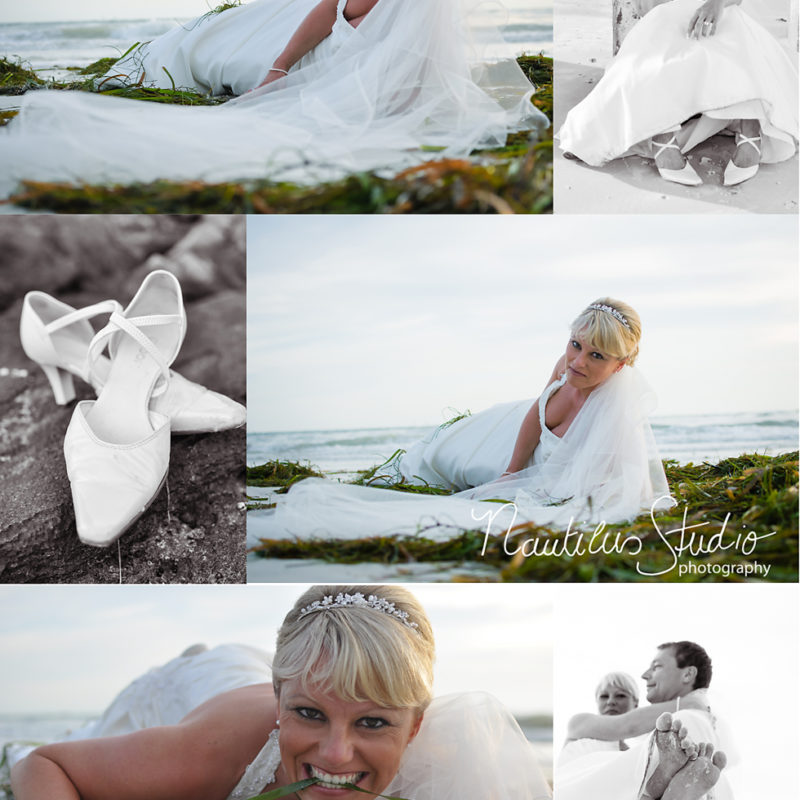 Trash the dress photo session in Anna Maria Island