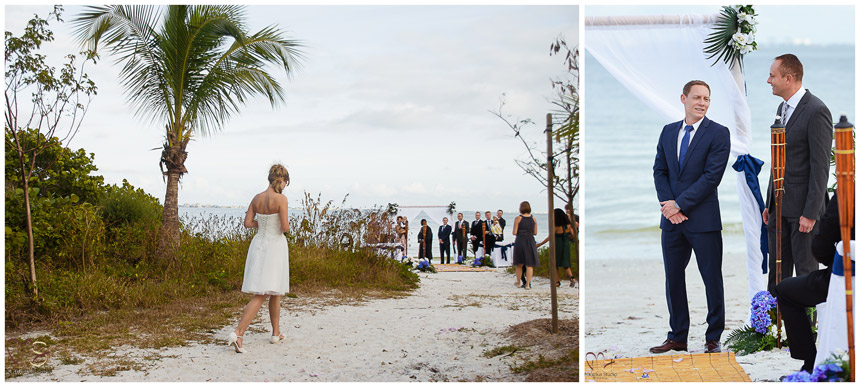 Sanibel beach wedding