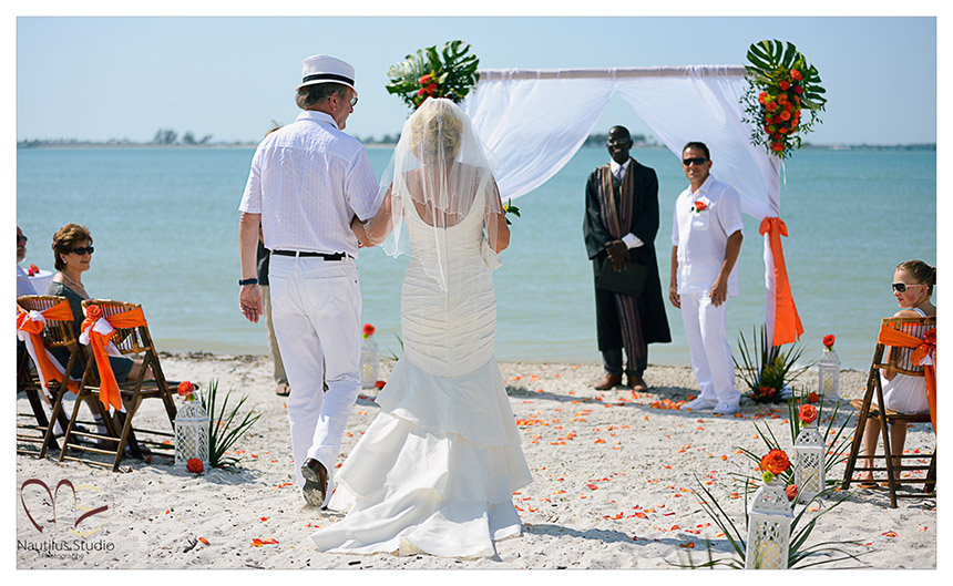Lighthouse Beach Wedding Sanibel Island 5