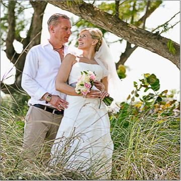 Anna Maria Island Wedding on the beach