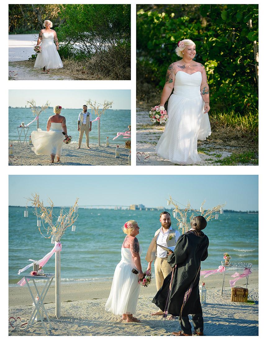 Vintage Beach Wedding Sanibel Island 4
