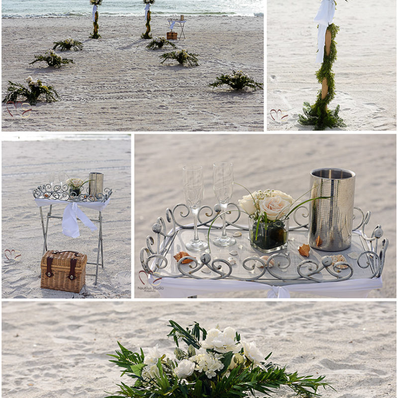 Beach Wedding in Anna Maria Island